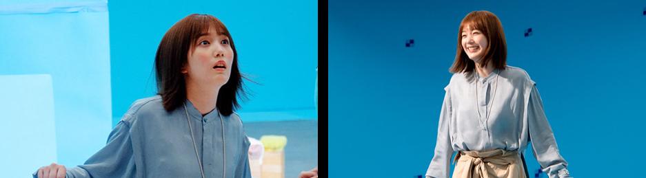 """「LIFULL HOME'S」新CM本田翼さん出演「住まい探しをスムーズに」""""住まい探しダンジョン""""篇&""""内見アドベンチャー""""篇 撮影現場での写真"""